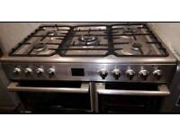 LEISURE DUAL FUEL COOKING RANGE 90CM WIDE DOUBLE OVEN WITH GRILL FREE DELIVERY AND WARRANTY