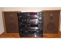 TECHNICS INTEGRATED STEREO SYSTEM (Radio, CD,Tape deck)
