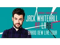 Jack Whitehall tickets x2 for 2nd February @ Glasgow SECC