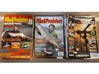 Pike and Predator Magazine Collection 130 Issues from 1997 to 2017 Collection Only RG10