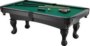 7 ft pool table new in carton