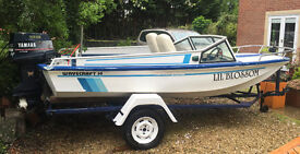 SPECIAL - 14ft Ski/Fishing boat for sale