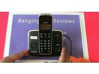 Bt cordless digital phone with answer machine