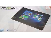 "Windows Connect 10.1"" Tablet 32GB 1GB RAM Quad Core Wi-Fi Windows 10"