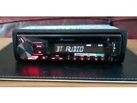 CAR HEAD UNIT PIONEER MVH-S390BT MP3 PLAYER WITH BLUETOOTH AUX 4x 50 AMPLIFIER AMP STEREO RADIO BT