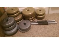 High Quality Weights for Dumb-bell plates with rods at CHEAP price!