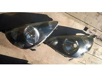 Set of headlights for Honda Jazz 2002 - 2006