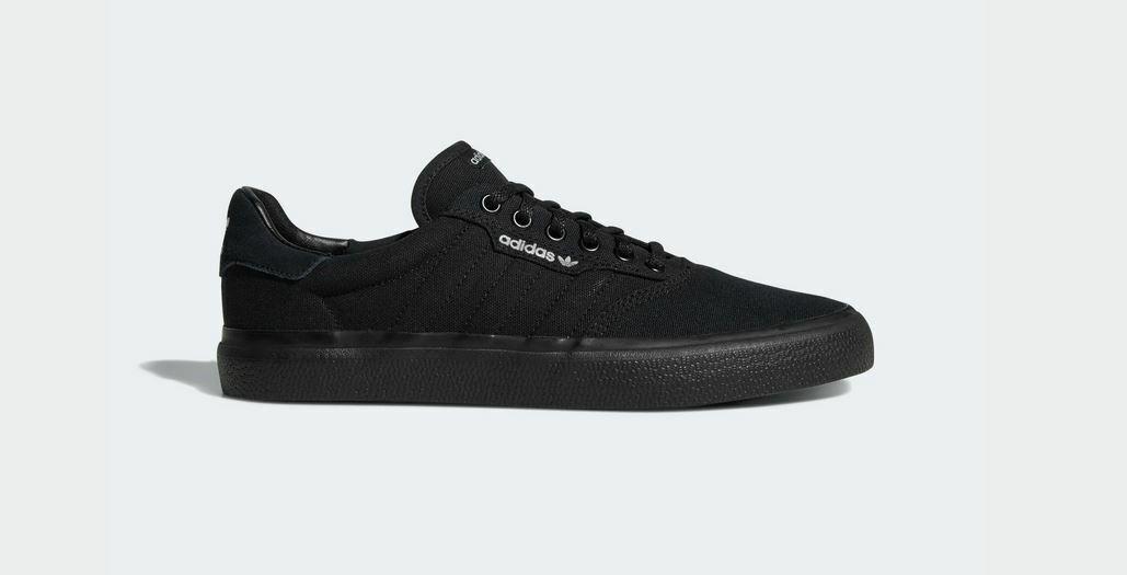 Adidas 3MC Vulc schwarz Herren Damen Sneakers Skaterschuhe NEU 42 2/3