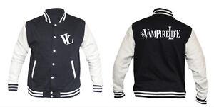 VAMPIRE-LIFE-Varsity-College-Jacket-NEW-Jim-Jones-Varsity-jacket-FREE-UK-post