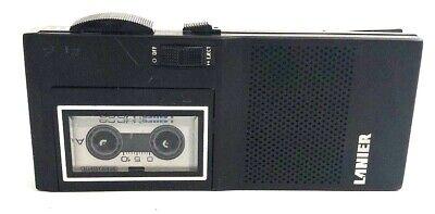 Vintage Lanier Ms-56 Professional Handheld Voice Recorder With Cassette