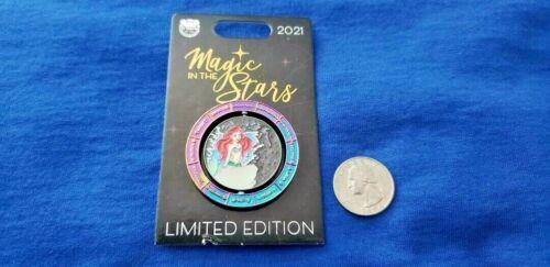 The Little Mermaid Magic in the Stars Aquarius Ariel LE 4000 Disney Pin