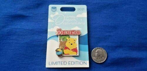 Winnie the Pooh 100 Aker Disney Dream Destinations May 2021 LE 2500 Disney Pin