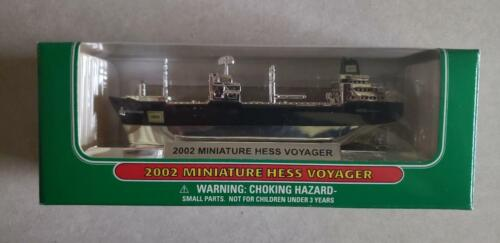 HESS* CHROME* 2002* MINIATURE* HESS* VOYAGER* RARE* ULTRA* MINT* WORKING* TRUCK*
