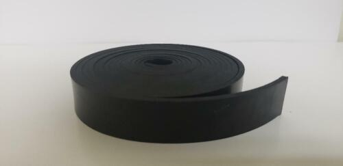 "NEOPRENE RUBBER ROLL 1/8 THK X 1"" WIDE x10 ft LONG  60 DURO +/-5"