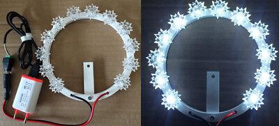 Votive coronet Luminous Stellario With Led White Diameter Cm 30