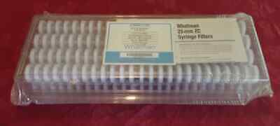 Whatman Syringe Filters 25 Mm Zc Pvdf 0.45 Micron 200 Pack 6842-2504