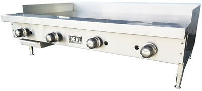 New 48 Commercial Flat Griddle Plate By Ideal. Made In Usa. Nsf Etl Approved