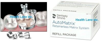 Dentsply Automatrix Dental Matrix Bands Refill Medium Thin 14 X 0.0015 Box72
