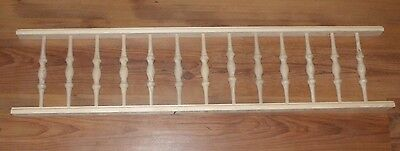 """Victorian Gingerbread Porch Spandrel Trim ~ 6.75"""" Tall ~ SPINDLES ~ by PLD"""