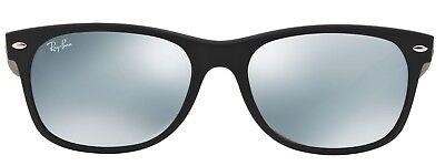 Ray-Ban Damen Herren Sonnenbrille RB2132 NEW WAYFARER 622/30 55mm schwarz  L7
