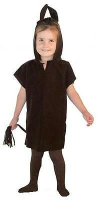 BROWN DONKEY HORSE TABARD CHILDRENS FANCY DRESS COSTUME NATIVITY SCHOOL PLAY (Christmas Horse Costumes)