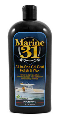 Marine 31 All-In-One Gel Coat Polish & Wax M31-230 - Gel Coat Wax