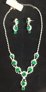 """Lovely Necklace and Earrings """"Impulse Jewelry"""""""