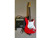 KCC guitar and amp