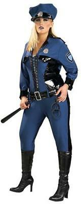 Lady Justice Halloween Costume (RUBIE'S LADY JUSTICE POLICE OFFICER ADULT HALLOWEEN COSTUME SIZE PLUS)