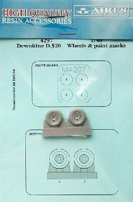 AIRES HOBBY 1/48 D520 WHEELS PAINT MASKS FOR HSG 4297