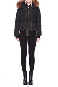BLACK MACKAGE ROMANE BOMBER- NEW WITH TAGS