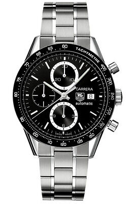 AUTHENTIC TAG HEUER CARRERA CV2010.BA0794 CHRONOGRAPH AUTOMATIC LUXURY WATCH