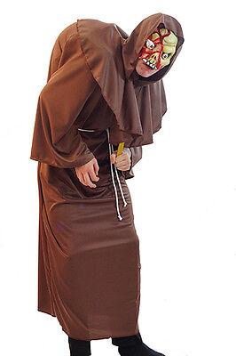 Komplette Zombie Kostüm (HALLOWEEN-HORROR Zombie Buckel Mönch komplette alle Herren Größen teen-xxxxl)