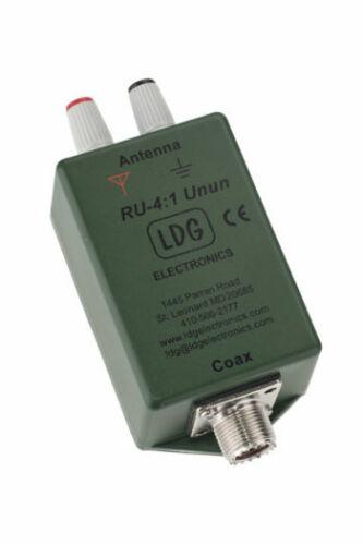LDG Electronics RU-4:1 - UNUN, 200 W, 4:1 Ratio, 1.8-30 MHz, Ferrite Core, SO239