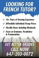 """Child needs a """"head-start"""" in French before the school starts?"""