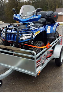 Arctic Cat and trailler sold together. Bought new in 2015