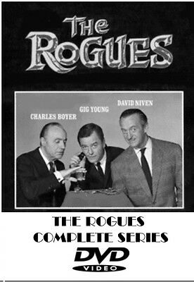 THE ROGUES COMPLETE TV SERIES 1964-65 8 DVD SET 30 EPISODES