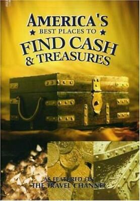 America's Best Places To Find Cash & Treasure DVD VIDEO DOCUMENTARY gold (Best Places To Find Treasure)