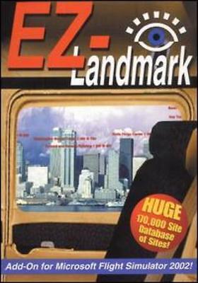 Ez Landmark For Ms Flight Simulator 2002 Pc Cd Famous Land Marks Game Add On