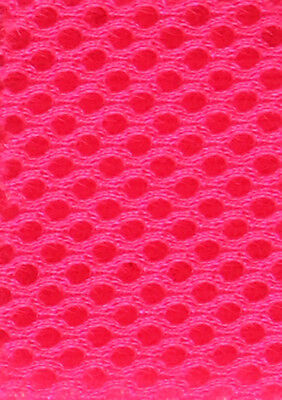 3D Airmesh 4 mm Top Qualität - Neon Pink 160cm Breite Mesh 3
