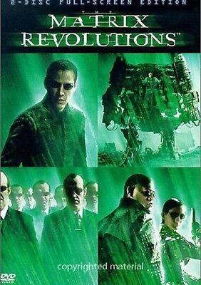 Matrix Revolutions (DVD, 2-Disc Set, Full