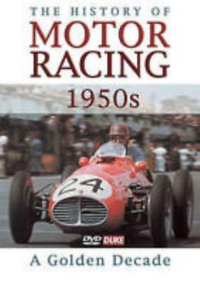A History Of Motor Racing  1950S  A Golden Decade Dvd Video Movie Drivers Cars