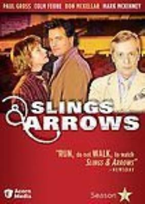Slings   Arrows  Season 2 Second 2 Disc Set Dvd Video Movie Canadian Television