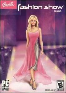 Barbie Fashion Show Pc Cd Design Match Glamorous Cool Outfits Girls Runway Game Ebay