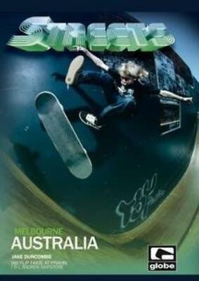 Streets: Melbourne Australia DVD VIDEO MOVIE traveling best skate spots