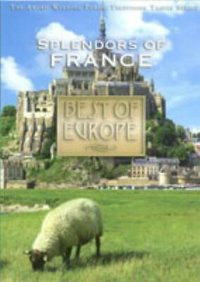 Best Of Europe: Splendors Of France DVD VIDEO MOVIE travel cathedrals wine (Best Of France Travels)