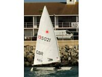 Laser Dinghy Radial/Standard with Combi Trailer