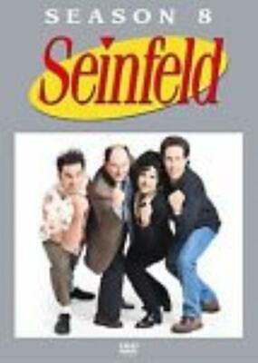 Seinfeld: Season 8 Eight DVD VIDEO TV SHOW comedy sitcom Jerry Elaine Kramer
