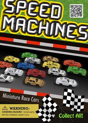 Vending Machine 0.250.50 Capsule Toys - Speed Machines Mini Race Cars