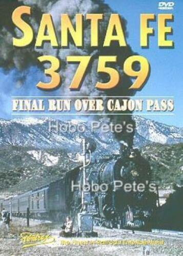 * Pentrex DVD: ATSF 3759 - Final Run Over Cajon - New!